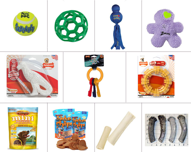 Toys and Treats Package